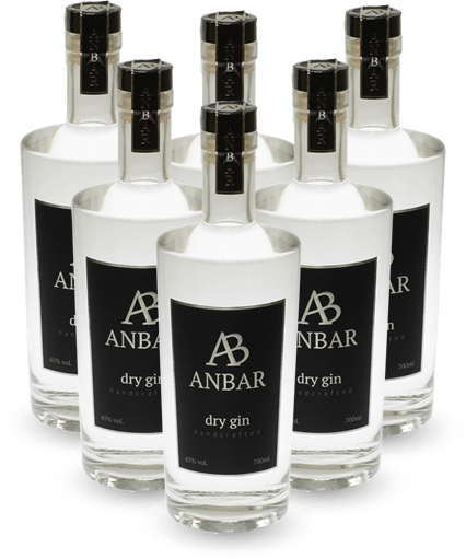 Anbar Classic Gin Alkohol 6 Pack